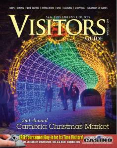 SLO Visitors Guide Magazine